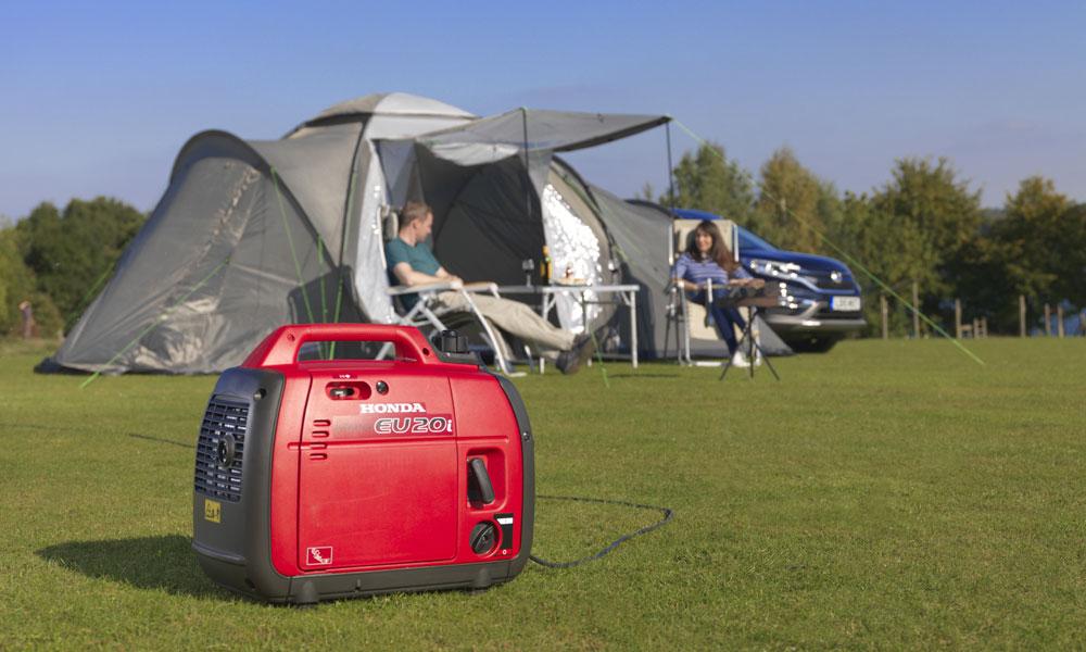 Honda-EU20i-Tent