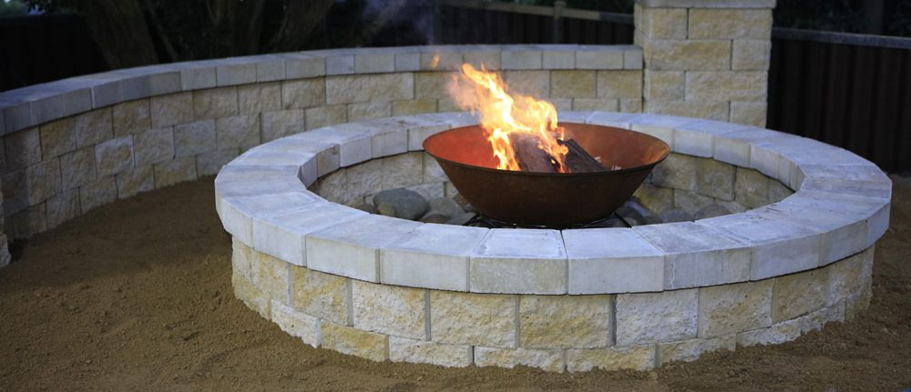 Fireplace get new products for Step by step fire pit