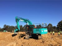 trimble kobelco partnership