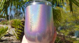Stemless Insulated Tumbler - Glitter Iridescent - Ultra Violet