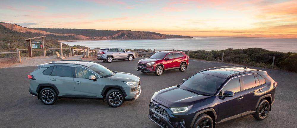 2019 Toyota RAV 4 range