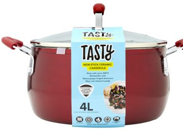 73442 Tasty Dutch Oven red