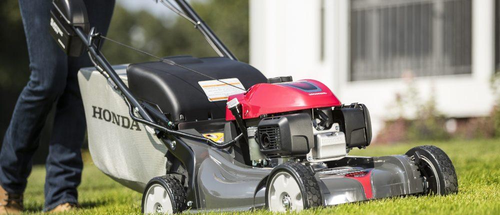 The New Honda HRX Lawnmower